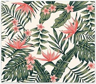 Decorita 10011507226 Botanik Desen Cam Ocak Arkası Koruyucusu, 49,5cm x 76cm