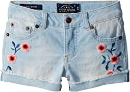 Lucky Brand Kids - Bobbi Denim Shorts in Bella Wash (Little Kids)
