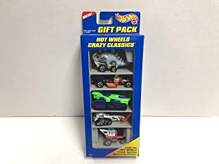 HOT WHEELS CRAZY CLASSICS 1996 Mattel GIFT PACK 17490 diecast 5-vehicle pack with Radio Flyer Wagon