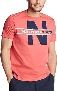 Men's Short Sleeve 100% Cotton Classic Logo Series...