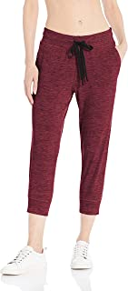 Women's Brushed Tech Stretch Crop Jogger Pant