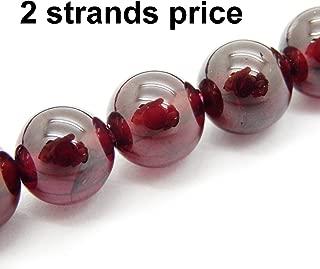 natural garnet beads