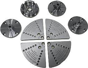 Nova 5 Set Mini Jaw Set - Includes 6027 kit (JS70N bowl jaw sets, 6026 mini spigot jaws, JS20N mini bowl jaws, and 6025 mini step jaws) and 6006 8