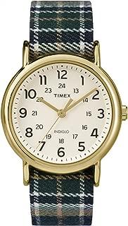 Timex Unisex TW2P89500 Weekender Analog Display Quartz Blue Watch