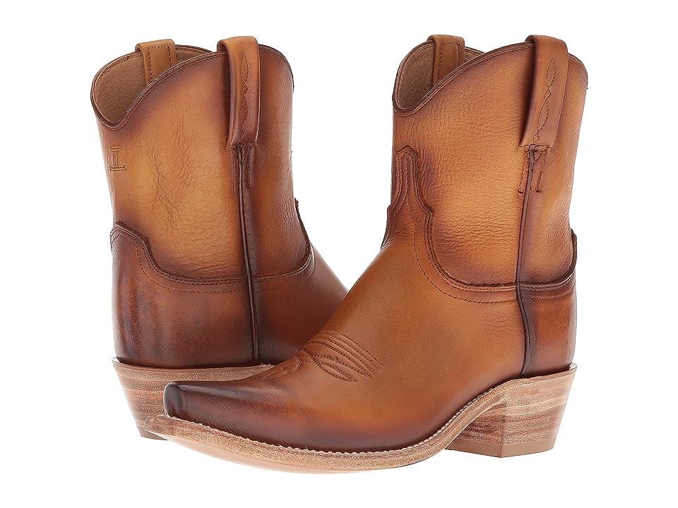 Lucchese Gaby (Tan Waxy Calf) Cowboy Boots