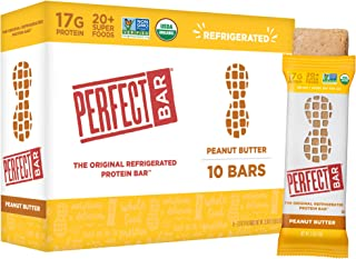 Sponsored Ad - Perfect Bar Original Refrigerated Protein Bar, Peanut Butter, 2.5 Ounce Bar, 10 Count