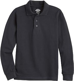 Dickies Men's Long Sleeve Pique Polo