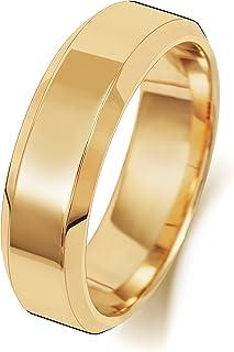 Anello Fede Nuziale Uomo/Donna 6mm in Oro giallo 18k (750) WJS1891218KY