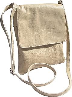 Italian Soft Napa Leather Messenger Cross Body Shoulder Bag Handbag