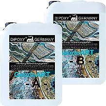 10,5 kg epoxyhars + verharder DIOPXY-2K-4000GeodeART 2K EP professionele kwaliteit glashelder, geurarm giethars epoxy Wave...