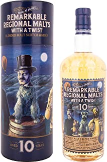 Douglas Laing Remarkable Regional Malts with a Twist 10 Years Old Blended Malt Whisky 1 x 0.7 l