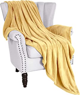 Exclusivo Mezcla Flannel Fleece Velvet Plush Soft Throw Blanket – 50