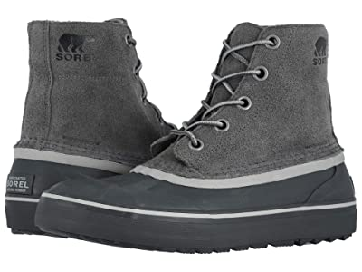 SOREL Cheyannetm Metro Lace Waterproof (Quarry/Coal) Men