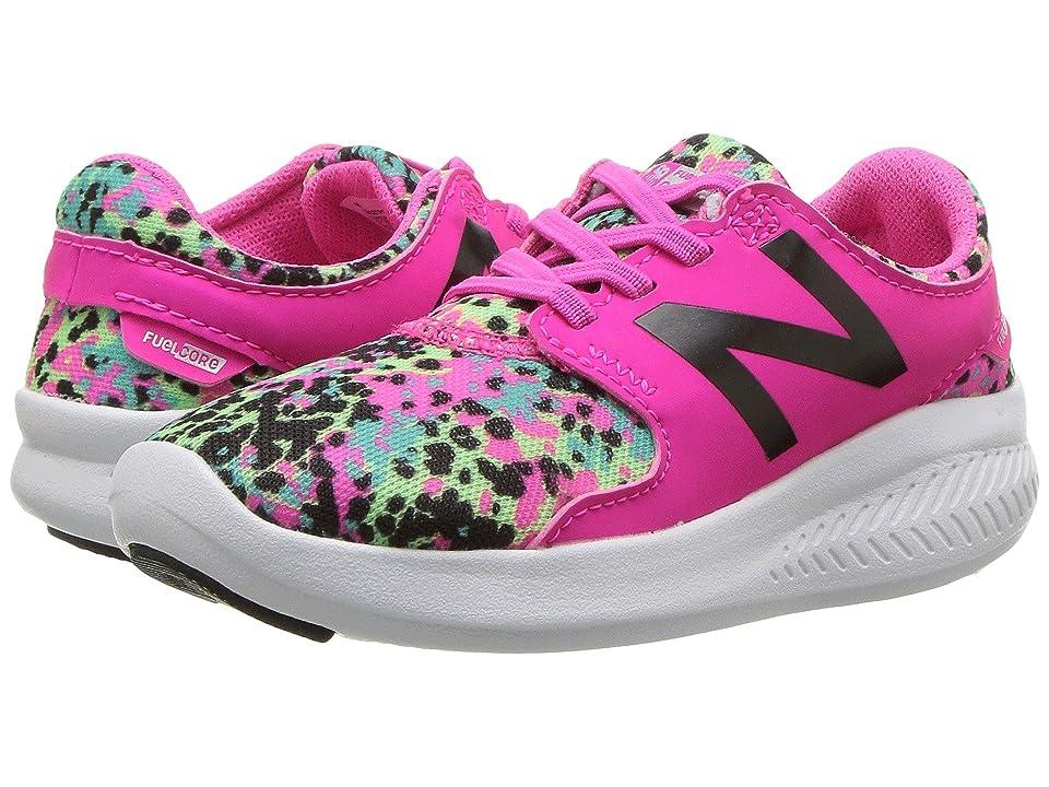 New Balance Kids KACSTv3I (Infant/Toddler) (Pink Glo/Green) Girls Shoes