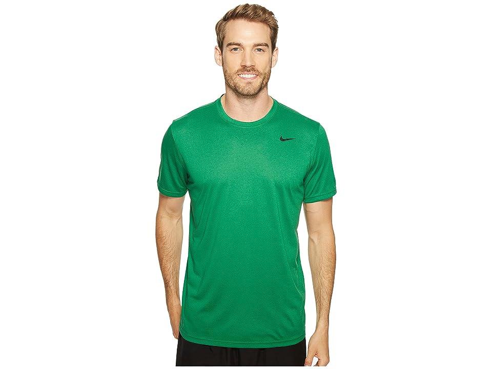 Nike Legend 2.0 Short Sleeve Tee (Pine Green/Black) Men