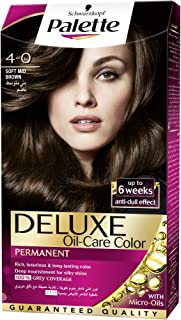 Schwarzkopf Palette Deluxe Oil Care Color 4-0 Soft Mid Brown