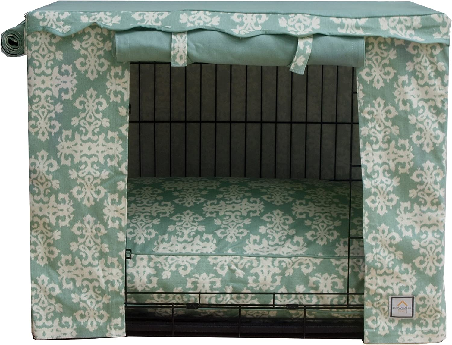 BowhausNYC Elegancia Crate Cream Sage Cover Outlet ☆ Free Shipping Ranking TOP8