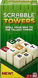 Mattel Games FMW20 Scrabble Towers Game, Multi-Colour