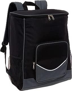 LISH Glacier Insulated Cooler Backpack - Large Leak-Proof Soft-Sided Cooling Bag