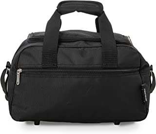 comprar comparacion Aerolite Holdall Maximum Ryanair Hand Luggage Cabin Sized Flight Shoulder Bag Equipaje de Mano, 35 cm, 14 Liters, Negro (B...
