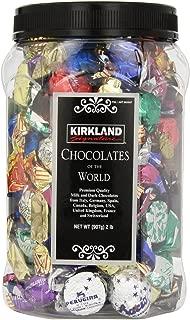 Kirkland Signature Premium Chocolates of the World Assortment, All New Super Savings Pkg 3 Jars (2lbs Each)