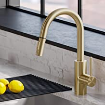 champagne gold kitchen faucet