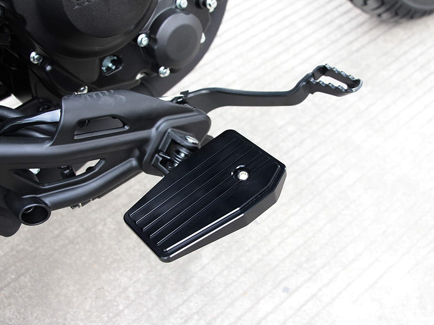 Motorcycle Foot Controls Folding Pegs Footpe Pedal Pad Long Beach Mall Rest Manufacturer regenerated product
