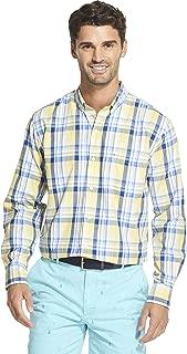 Men's Breeze Long Sleeve Button Down Plaid Shirt