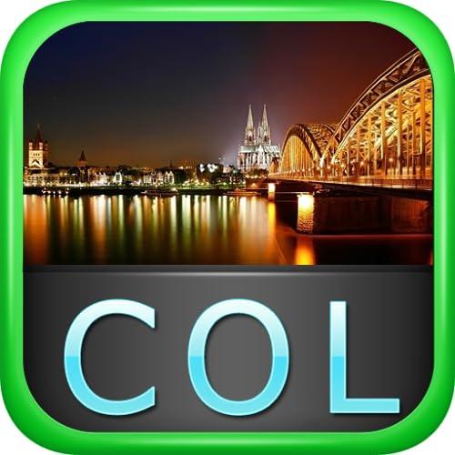 Cologne Offline Map Travel Guide (Kindle Tablet Edition)