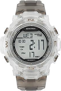Men's 40/8410 Digital Chronograph Resin Strap Watch