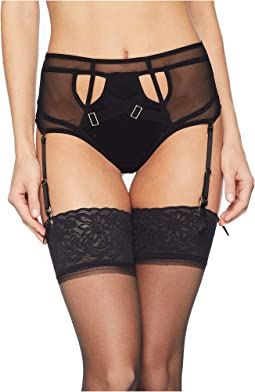Scala High-Waist Suspender Thong