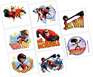 Party Centre Amscan Incredibles 2 Tattoos