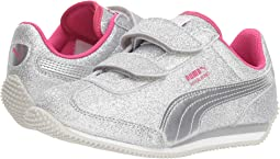 0c6bac54142fc1 Shoes · Puma Kids · Girls · Glitter. Puma Silver Beetroot Purple Gray Violet