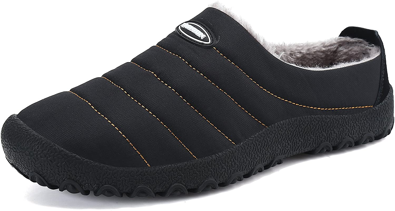 KUBUA Mens Slippers Warm Winter Flats Ho Indoor オンライン限定商品 Womens 海外並行輸入正規品 Shoes for