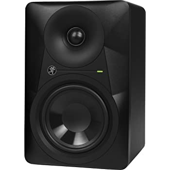 Mackie Studio Monitor, Professional Performance Superior Mix Translation with Logarithmic Waveguide design  - Black 5-inch (MR524)