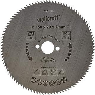 Wolfcraft 6264000 | Cirkelsågblad CV | Serie blå | 100 tänder | ø150 mm