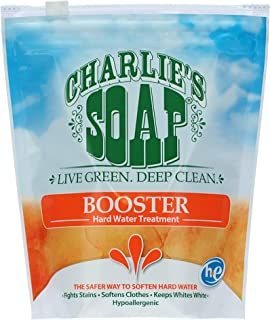 Charlie`s Soap Laundry Booster and Hard Water Treatment (1-Pack)…