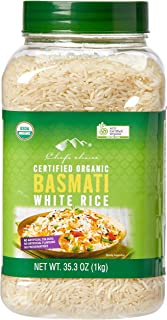 Chef's Choice Organic Basmati White Rice, 1 kg