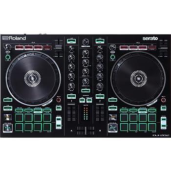 Roland, Black, Two-Channel, Four-Deck with Serato DJ Pro (DJ-202)