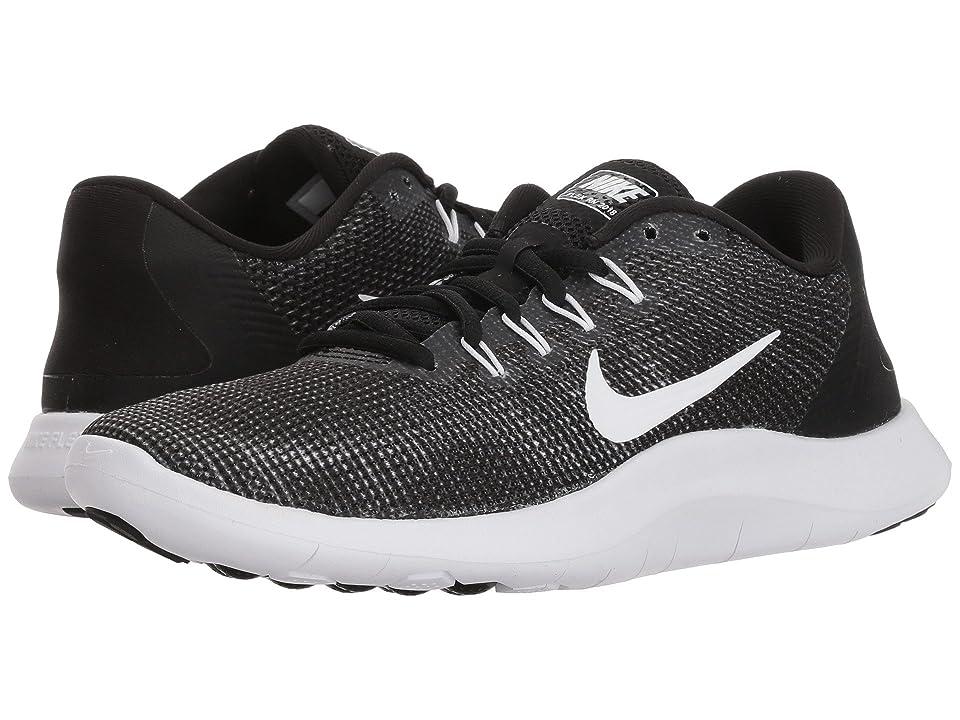 Nike Flex RN 2018 (Black/White) Women