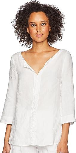 Woven Linen Tunic