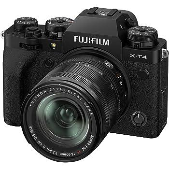 Best Fujfilm X-T4 Mirrorless Digital Camera XF18-55mm Lens Kit - Black