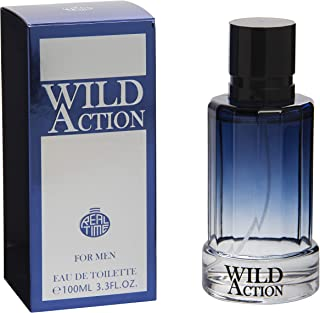 Real Time Eau de Toilette per uomo Wild Azione 100 ml