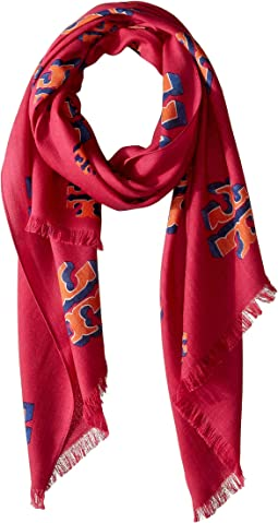 Flying Logo Oblong Scarf