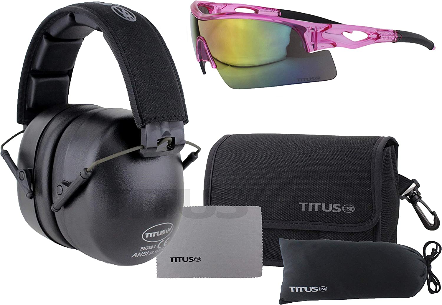 Titus 3 Series Free shipping New 37 NRR Noise Protection A Genuine G20 Hearing Reduction