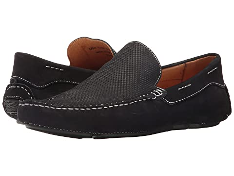 Massimo Matteo Perf Nubuck Driver Navy With Paypal Low Price xt8NGS