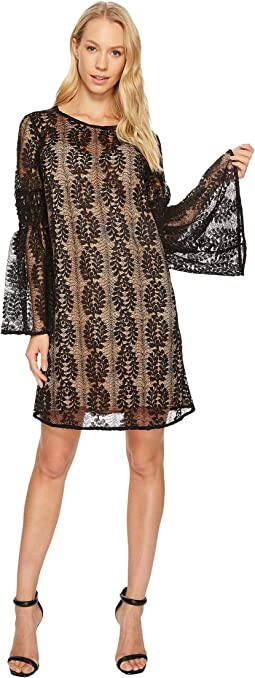 MICHAEL Michael Kors - Bell Sleeve Lace Dress