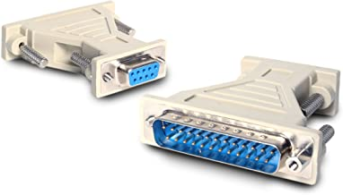 StarTech.com DB9 to DB25 Serial Cable Adapter - F/M - Serial adapter - DB-9 (F) to DB-25 (M) - AT925FM
