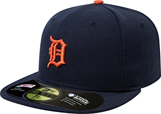 New Era Men's Authentic Collection 59FIFTY - Detroit Tigers Road Hat 7 5/8