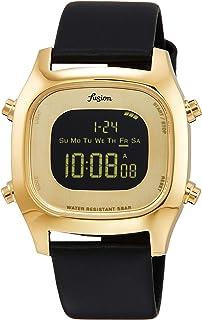 [セイコーウォッチ] 腕時計 アルバ Fusion(フュージョン)デジタルクオーツ 80年代イメージ 日常生活用強化防水(5気圧) AFSM403 ブラック